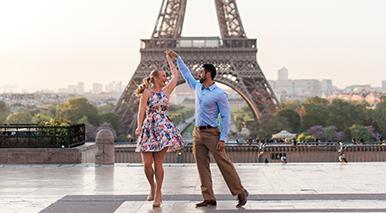 Paris engagement fine art photographer